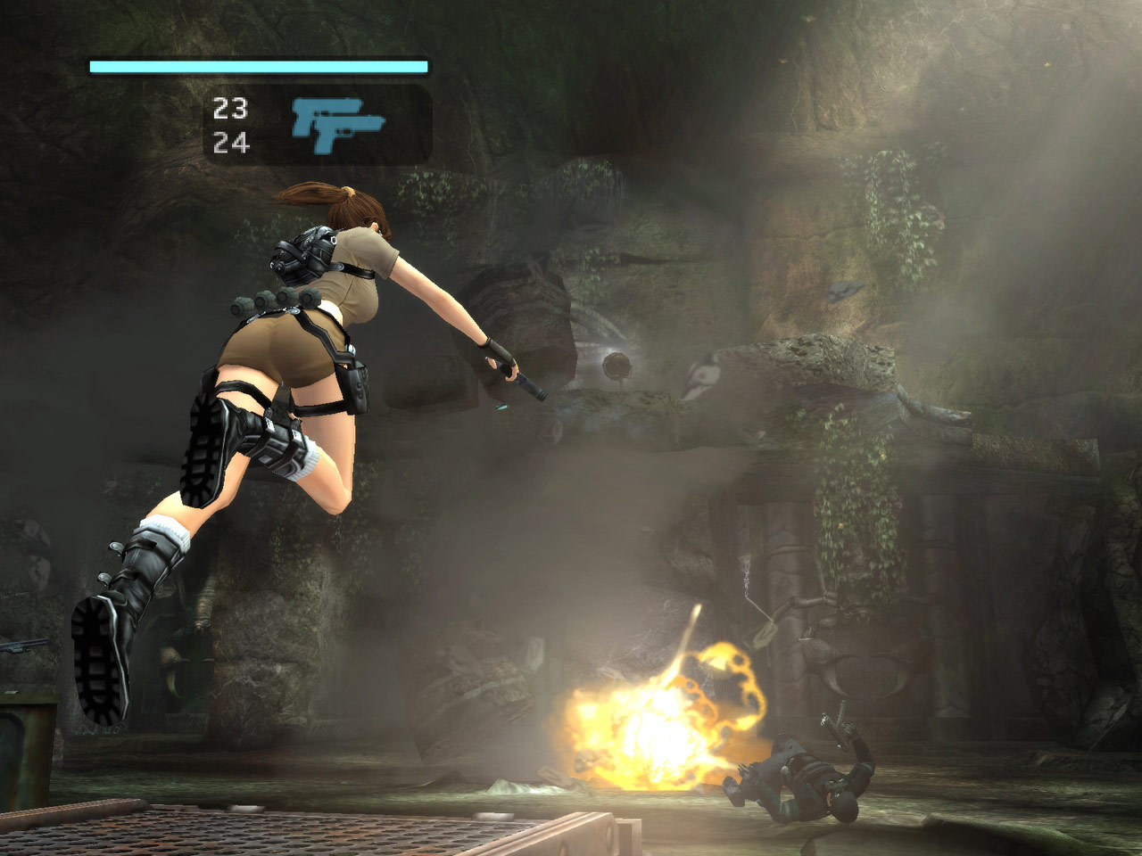 lara croft tomb raider legend ps2 cheats