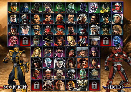 all mortal kombat 2011 characters. all mortal kombat characters