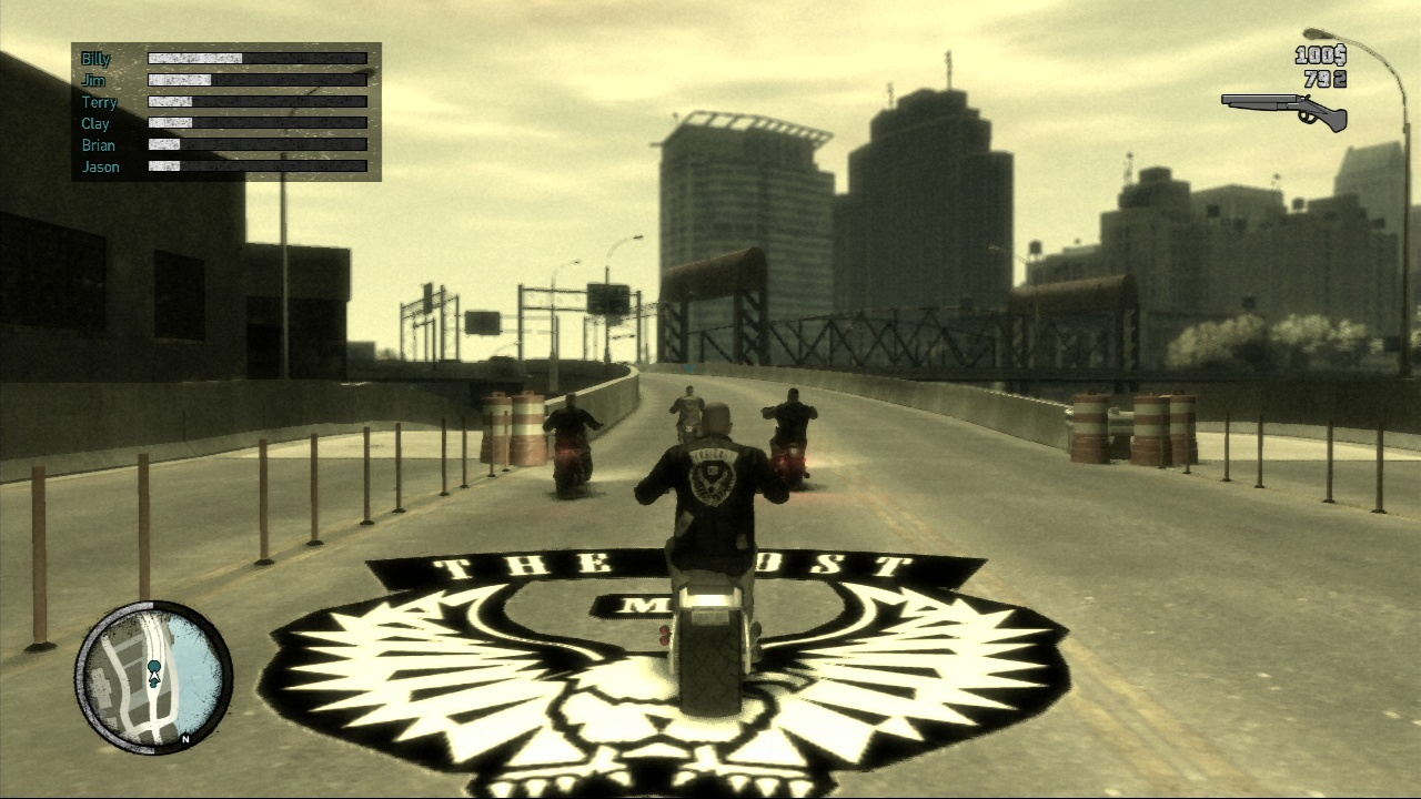 Gta 4 the lost and damned mission #13 end of chapter.