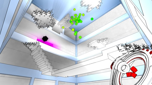Stairways can disappear if you don't walk slowly across them.