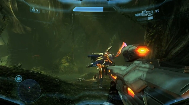halo-4-campaign-gameplay-screenshot-forerunner-lightrifle-weapon-e3-2012-microsoft-conference