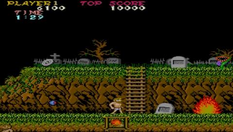 224454-capcom-classics-collection-reloaded-psp-screenshot-ghosts