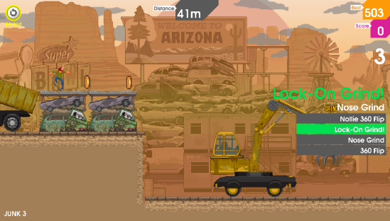 olliolli arizona grind