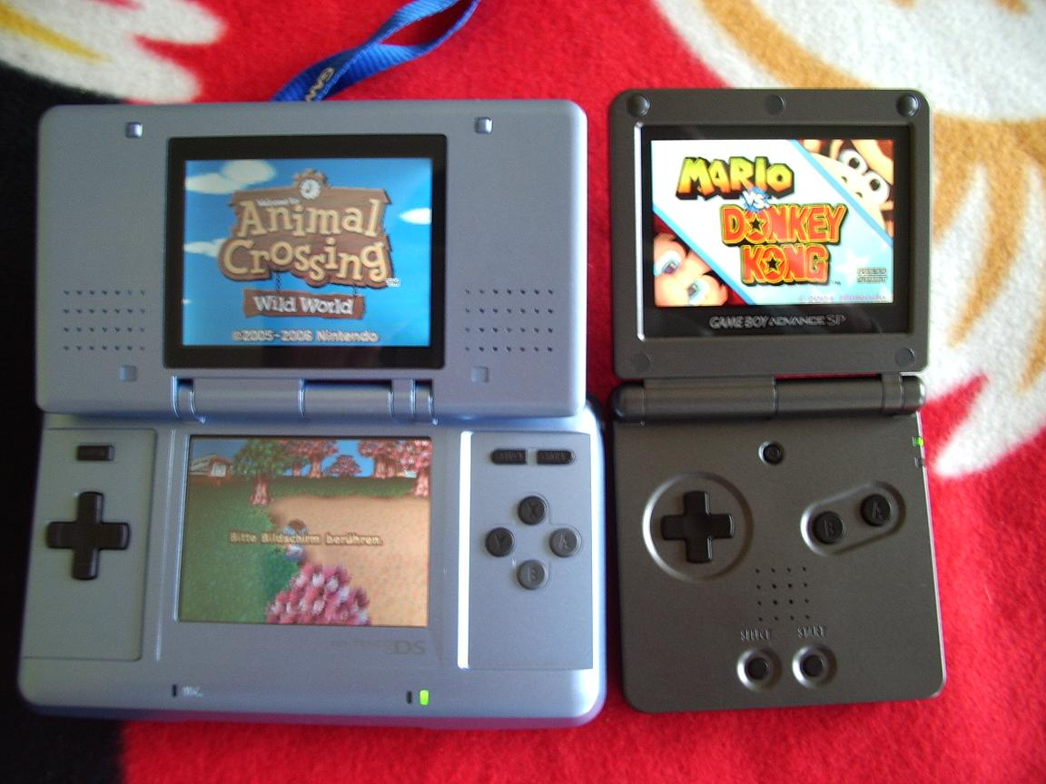how to download games to my nintendo advance sp